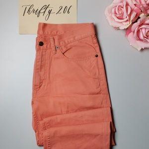 [Polo Ralph Lauren] 32x30 Peach Straight Leg Jeans